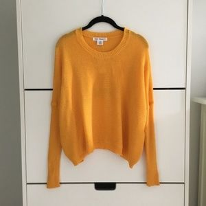 NWT Yellow/Orange Knit Sweater